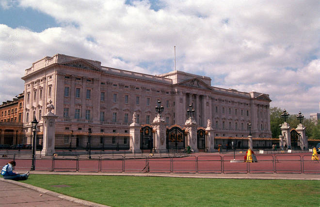 Buckingham Palace pictured in 1993