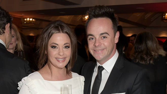 Ant and Lisa at a red carpet event before their bitter split earlier this year