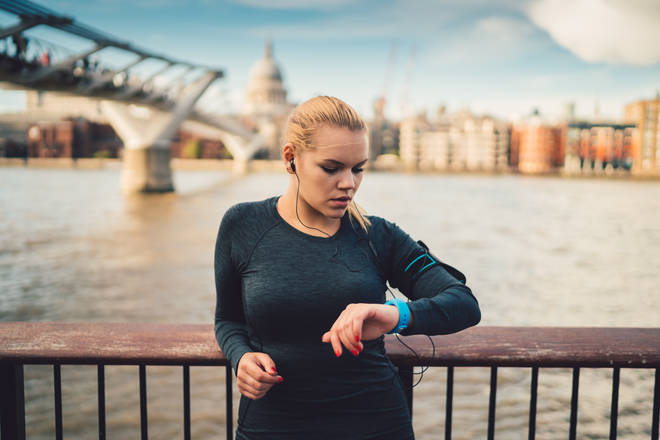 A fitness tracker can help you monitor your progress