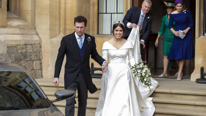 Eugenie and Jack got married in 2018