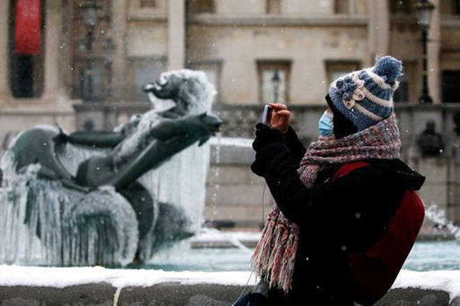 Most parts of the UK have been faced with freezing temperatures this week