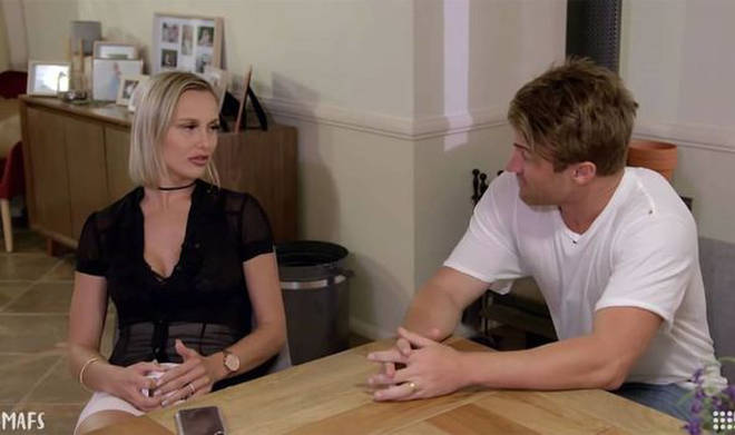 Susie and Billy came to blows on Married at First Sight Australia