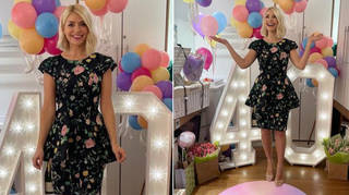 Holly Willoughby is wearing a vintage dress today