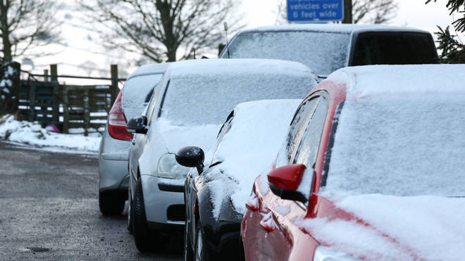 The Uk has seen plummeting temperatures this week