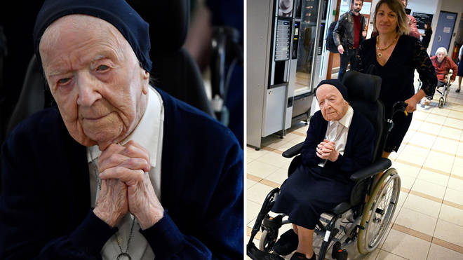 Sister Andre will be celebrating her 117th birthday tomorrow