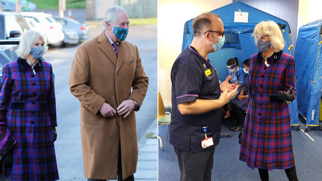 Prince Charles and Camilla have been given their vaccines