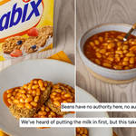 Weetabix has split the nation with their breakfast suggestion