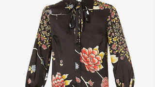 Holly Willoughby's shirt is designed by Victoria Beckham