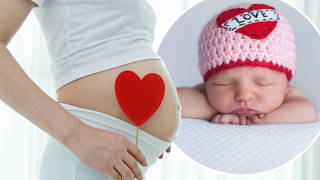 Ever thought of naming your baby after the day of love?