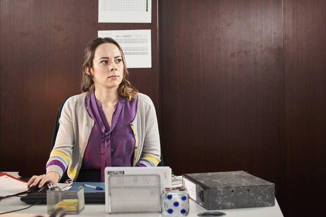 Alice Sykes plays Claire in Unforgotten