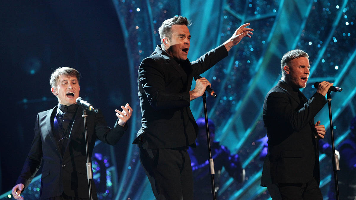 Robbie Williams to reunite with Take That ahead of their 30th Anniversary