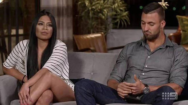 Nic and Cyrell split up during Married at First Sight Australia