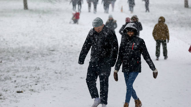 The weather is set to get more wintry this weekend