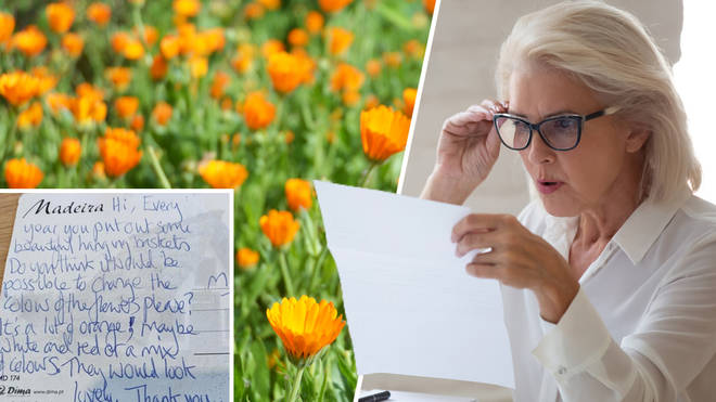What would you do if your neighbour asked you to change the colour of your garden flowers?
