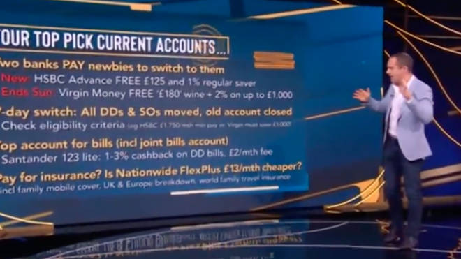 Martin Lewis explained how you can get £125 from switching current accounts