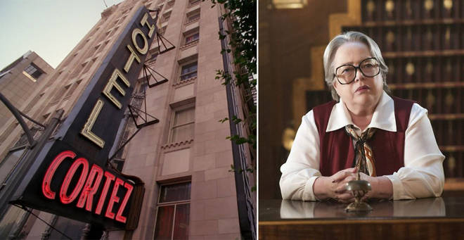 There are similarities between the fictional Hotel Cortez and real Cecil Hotel
