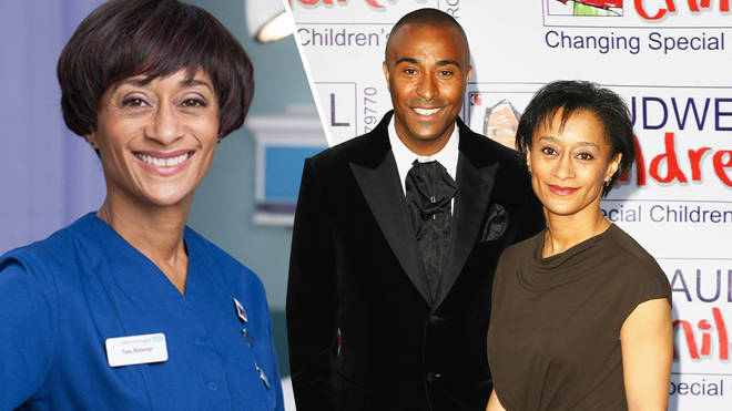 Colin Jackson's sister is Casualty actress Suzanne Packer