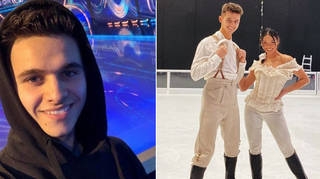 Joe-Warren Plant has pulled out of Dancing On Ice