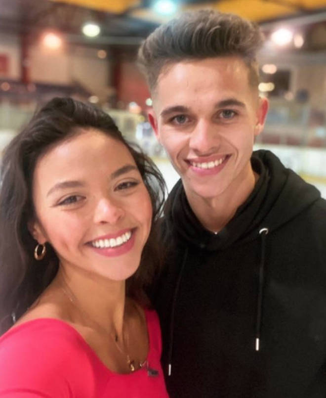 Joe and Vanessa said they are sad to be leaving Dancing On Ice