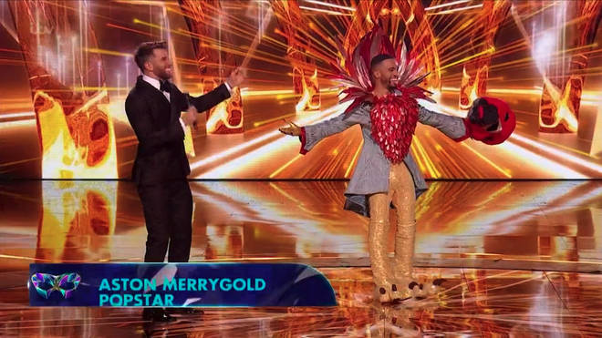 Aston Merrygold came third in The Masked Singer