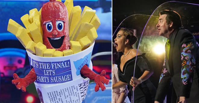 Sausage has won The Masked Singer!