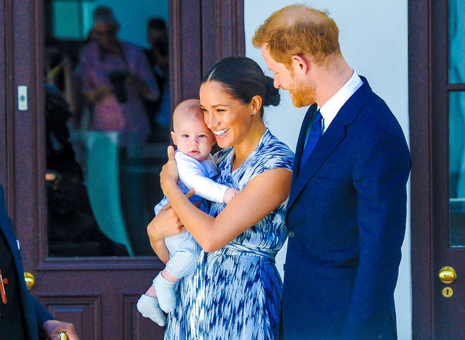 The couple are parents to a son named Archie