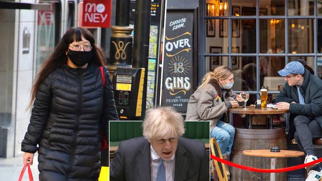 Boris Johnson is set to announce lockdown easing plans