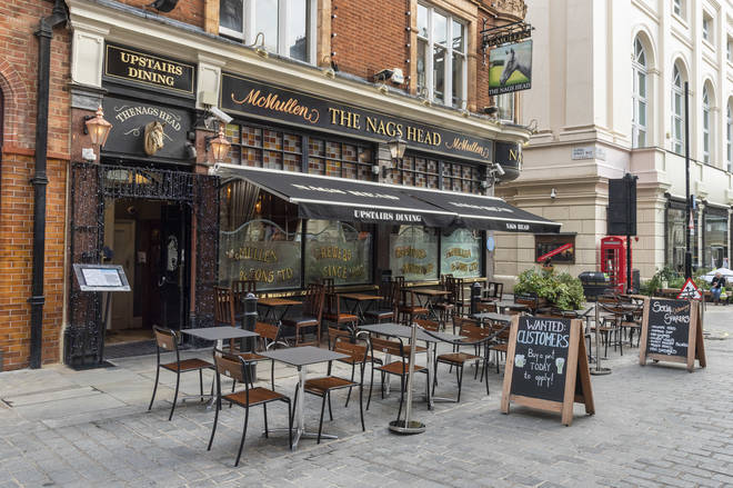 Pubs and restaurants could open this Easter