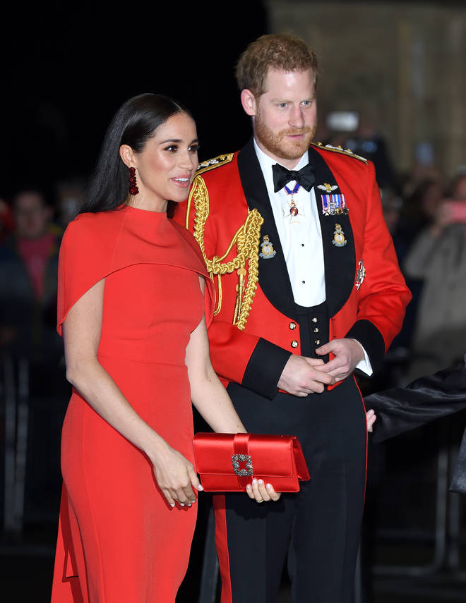 Meghan Markle and Prince Harry announced their pregnancy on Valentine's Day