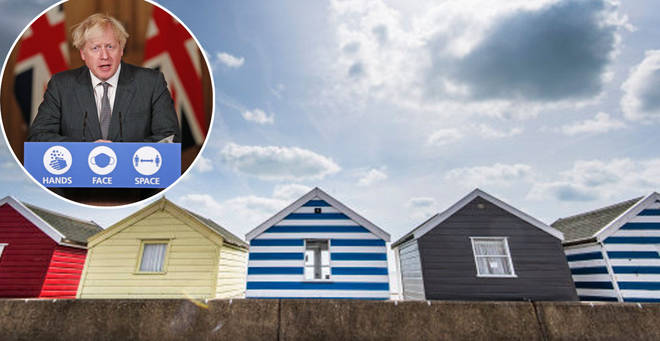 The government is said to be looking at plans that might allow staycations from April