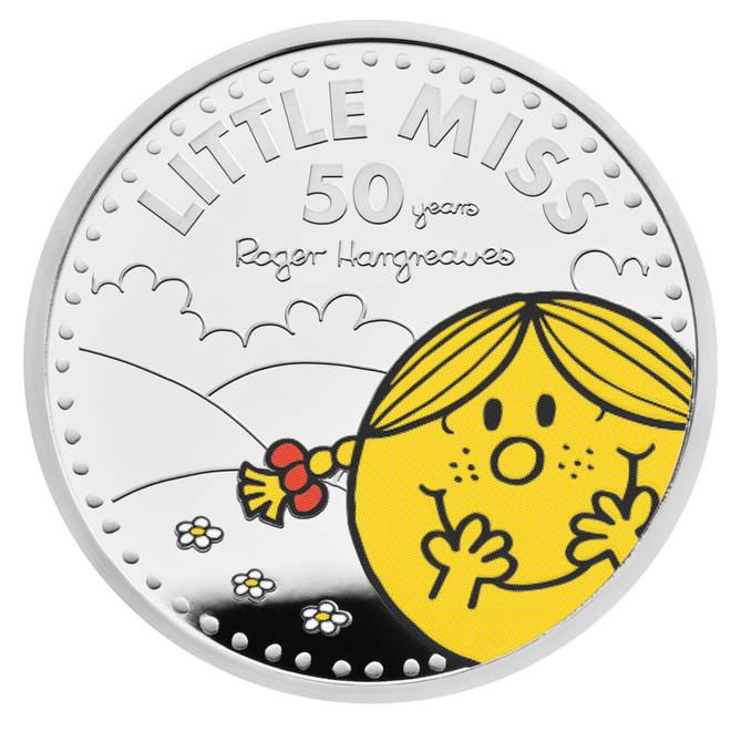 The incredible coins will also be available in colour
