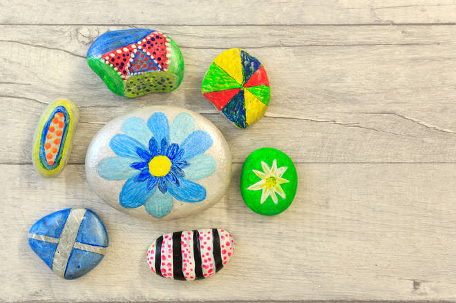 If your kids love crafts, get them painting pebbles to leave around your local area