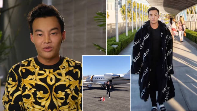 Kane Lim is on Netflix's Bling Empire
