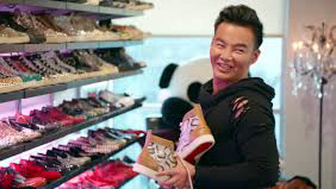 Kane Lim has more than 300 pairs of trainers