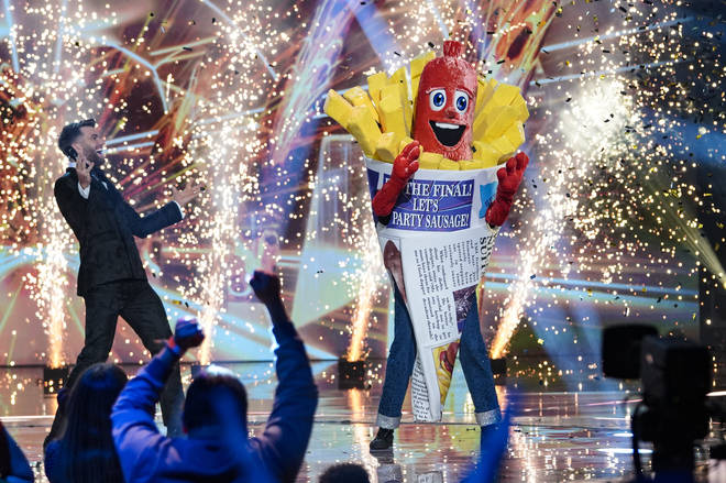 Sausage won the second series of The Masked Singer UK