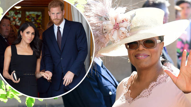 Meghan and Harry will discuss their lives as royals during the Oprah Winfrey interview