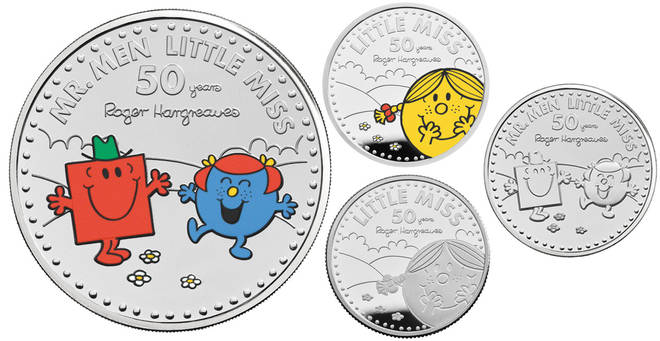 Royal Mint have unveiled their Mr Men coins