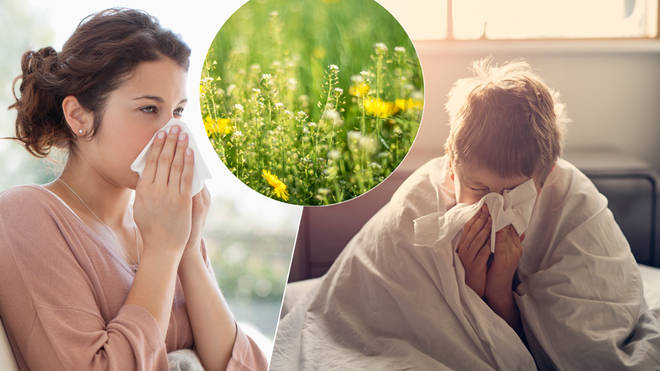 Experts are warning there could be a 'pollen bomb' this weekend