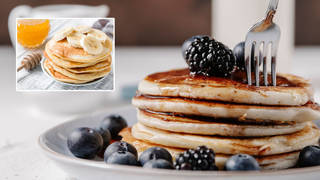 How to make extra fluffy pancakes (stock images)