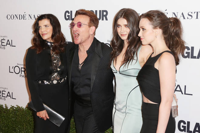 Eve is Bono's daughter