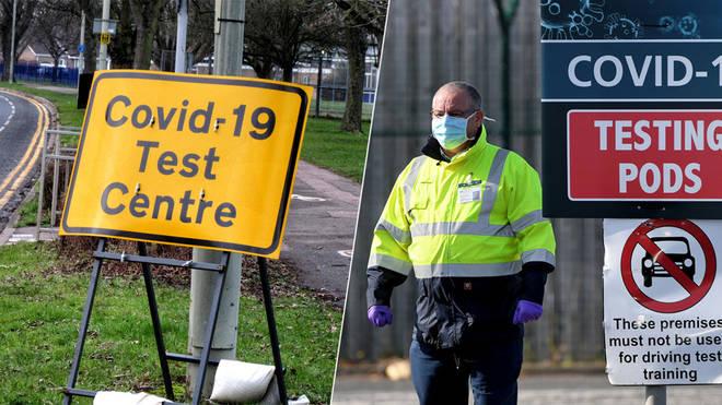 Door to door Covid testing is being extended