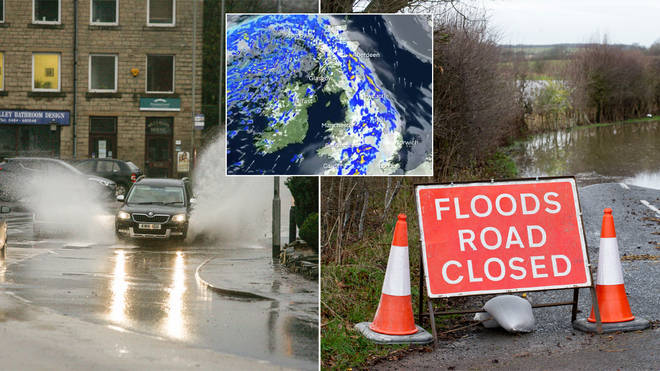 Flooding is expected across the UK this week