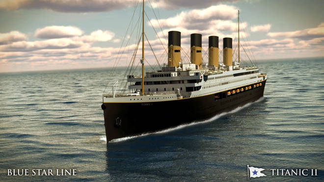 Titanic II is due to set sail in 2022