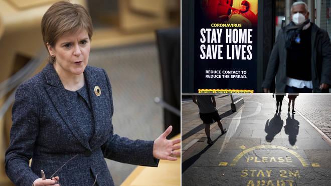 Nicola Sturgeon set out Scotland's plan to phase back schools