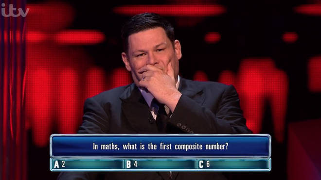 Mark Labbett shocked The Chase viewers after failing to answer a maths question correctly