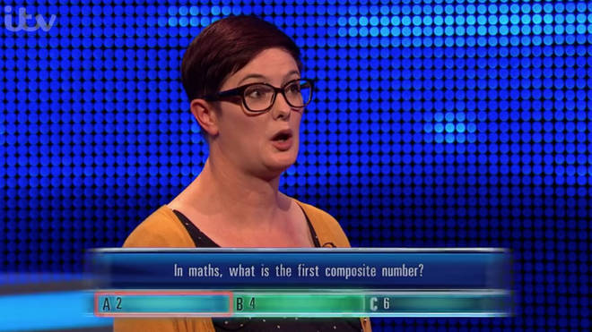 Contestant Sarah couldn't believe her luck as Mark got the question wrong