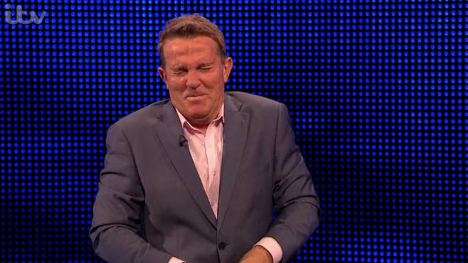 Bradley Walsh couldn't contain his amusement when Mark got the question wrong