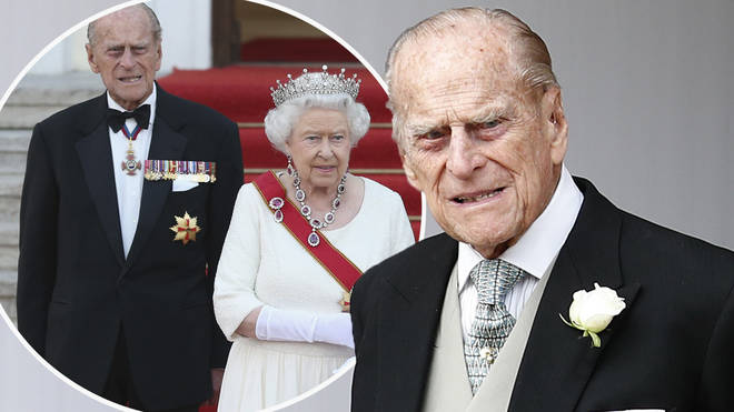 Prince Philip was taken to hospital after falling ill