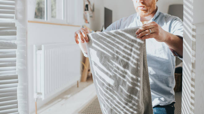 A cleaning company has offered advice on washing your towels (stock image)