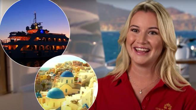 Below Deck Med was filmed in Greece
